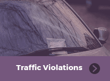 Traffic Violations Payment button
