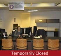 ESD Counter at Phx - Temporarily Closed